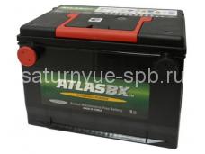 Аккумулятор с боковыми клеммами  75 А/ч , 630 А(Корея)