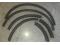 Комплект накладок на колёсные арки Б/У (оригинал SATURN).